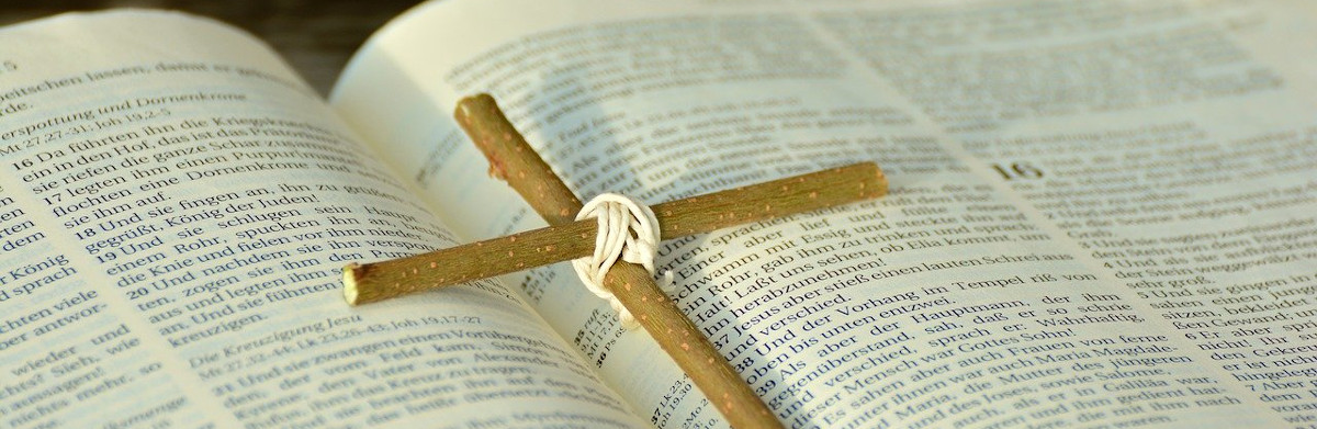 What we believe - bible and cross
