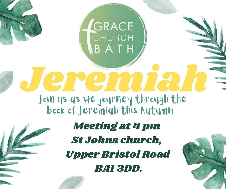 Join us to journey through Jeremiah